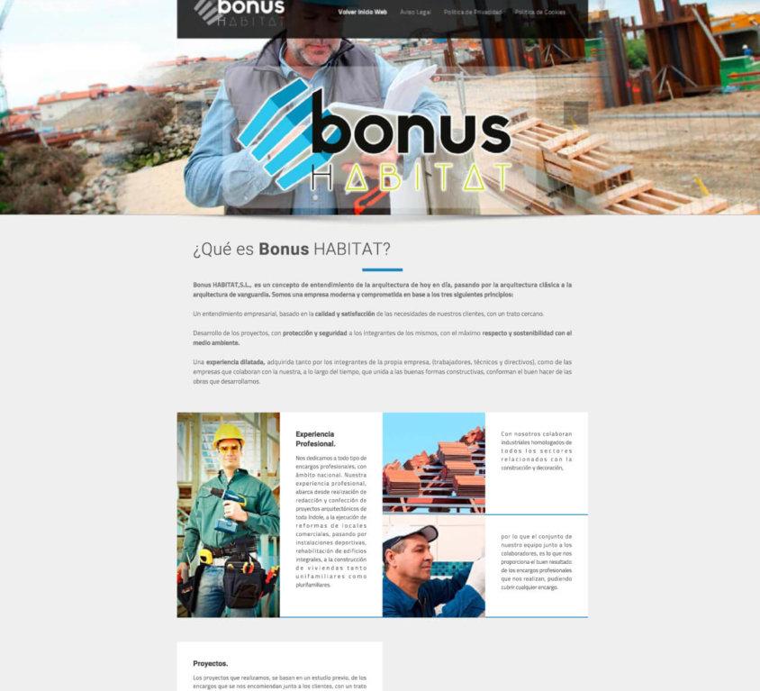 Bonus Habitat Construcción y Arquitectura