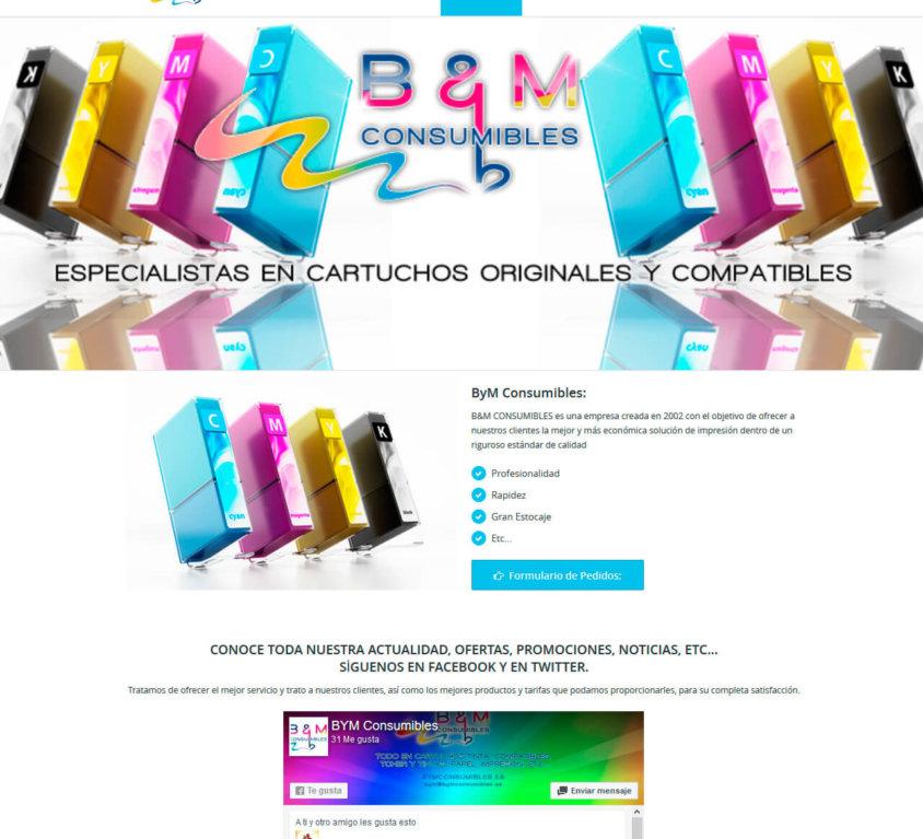 B y M Consumibles