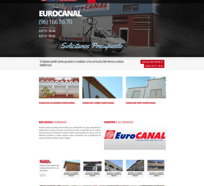 Eurocanal Instalacion de Canalones