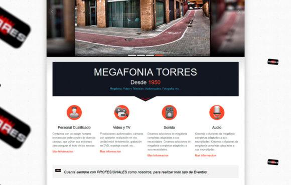 Megafonia Torres